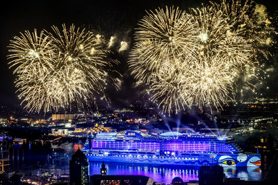 Carnival Corporation, the world's largest leisure travel company, officially welcomed its fleet's newest ship into the family over the weekend with the christening of AIDAprima, now the flagship vessel for the company's German-based AIDA Cruises brand.