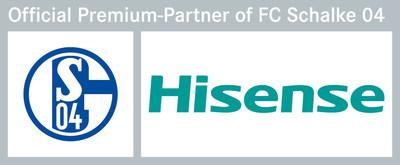 Hisense Becomes Premium Partner of FC Schalke 04 (PRNewsFoto/Hisense)