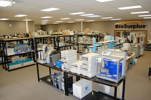 BioSurplus Expands, Debuts New 8000 Square Foot Warehouse and Service Facility