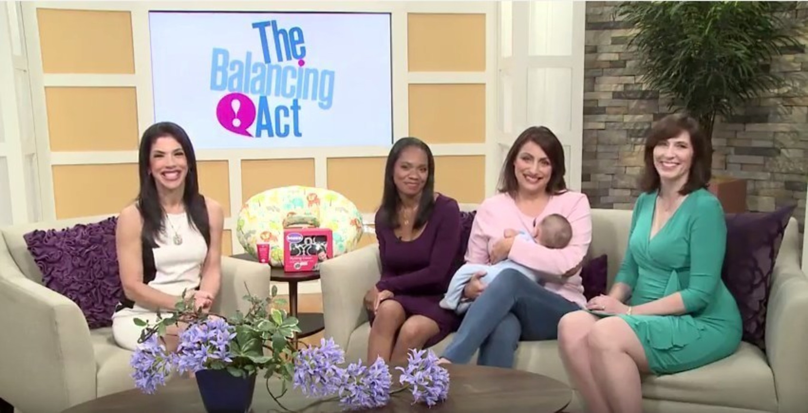 Lifetime Television(R) and The Boppy Company promote the importance of the breastfeeding journey. Tune into The Balancing Act airing on April 27th and May 4th at 7:30AM EDT for tips and information on a successful breastfeeding journey.