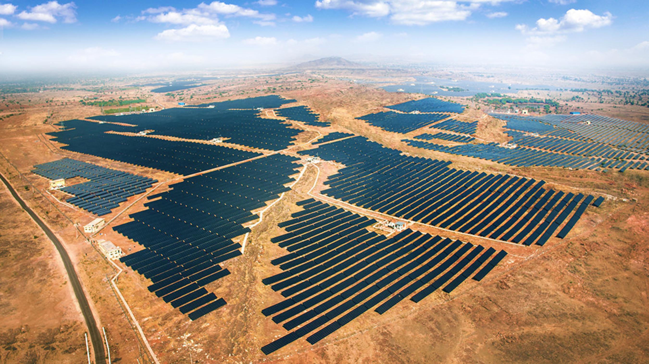 Azure Power Solar Power Plant, 100 MW, Rajasthan, India