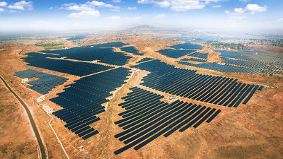 Azure Power Solar Power Plant, 100 MW, Rajasthan, India