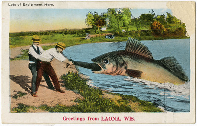 Big Fish from the Collection of Nancy Avarado. Courtesy of the John Michael Kohler Arts Center.