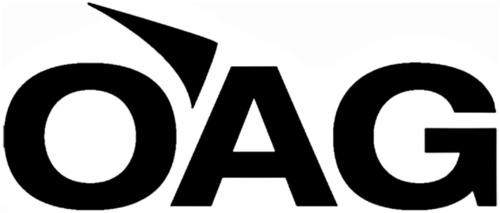 OAG. (PRNewsFoto/OAG)