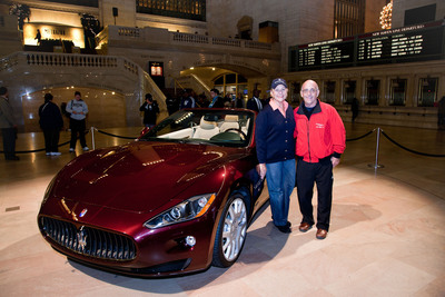 Winners of Maserati GranTurismo Convertible Selected at Grand Central Terminal Event