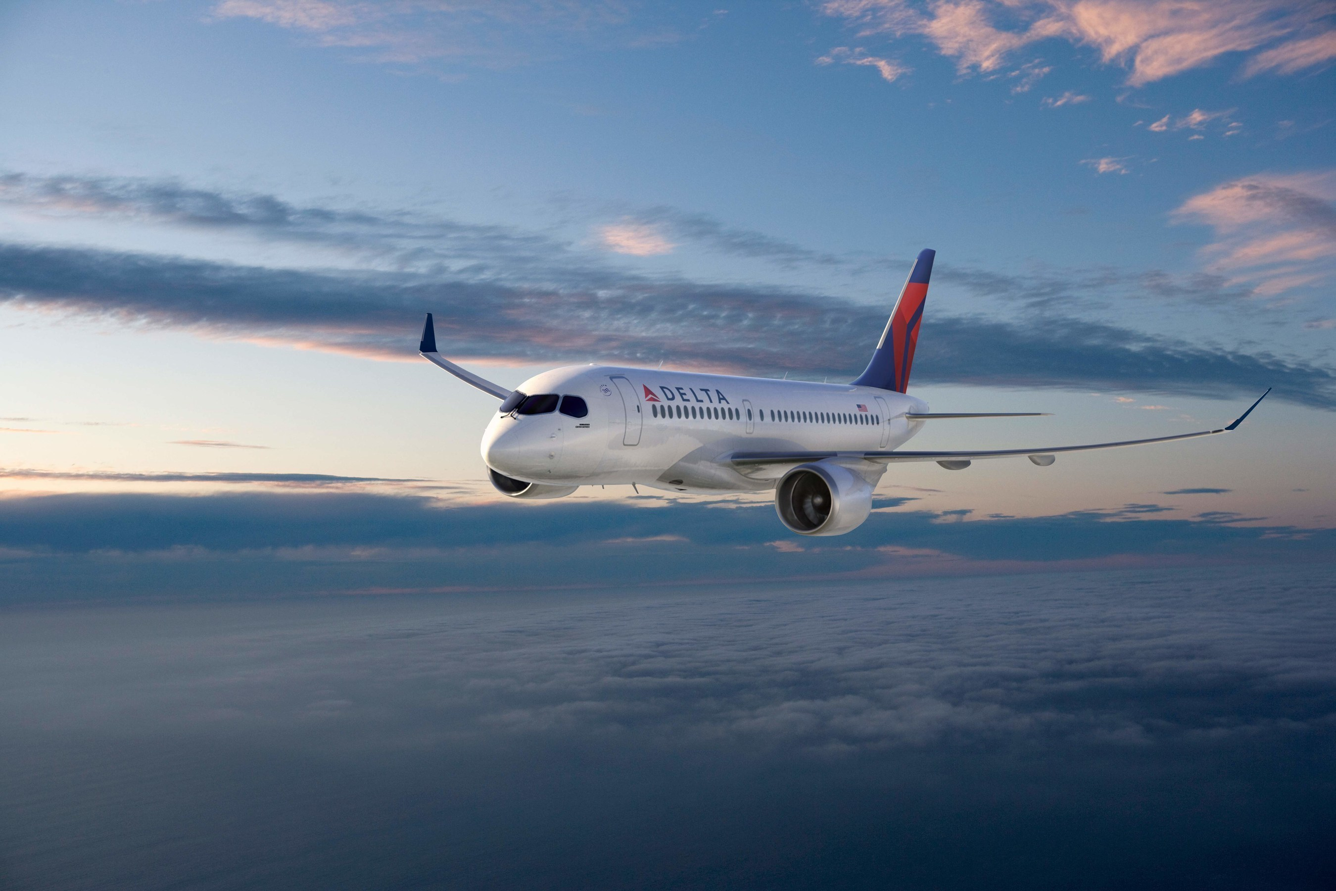Delta Orders State-of-the-Art, Fuel-Efficient Bombardier C Series