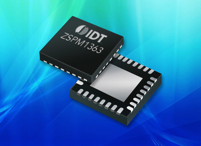 IDT Expands Power Portfolio with New Dual-Phase High-Performance Digital Power Controller