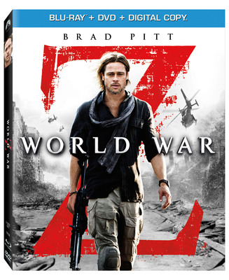 Brad Pitt Stars In The Blockbuster Phenomenon WORLD WAR Z Debuting in an Unrated Cut Including More Intense Thrills & Action Not Seen In Theaters Exclusively On Blu-ray(TM) September 17th.  (PRNewsFoto/Paramount Home Media Distribution)