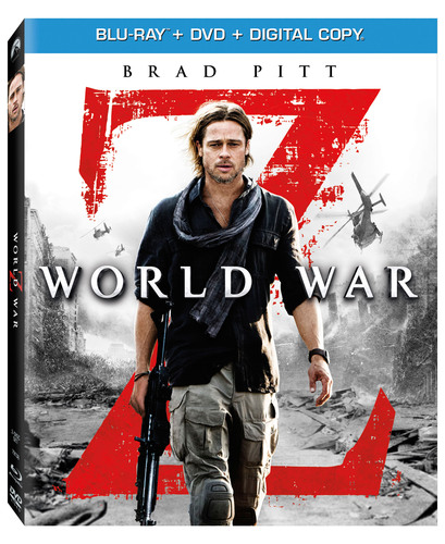 Brad Pitt Stars In The Blockbuster Phenomenon WORLD WAR Z Debuting in an Unrated Cut Including More Intense ...