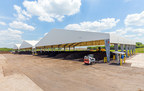 One key advantage of a Legacy fabric structure is that the translucent fabric allows light to enter the building through the roof, saving energy costs by eliminating the need for artificial lighting during daylight hours.