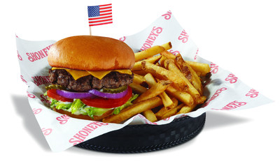 Shoney's(R) Offers Free All-American Burger(TM) to All Veterans and Troops on Their Special Day.
