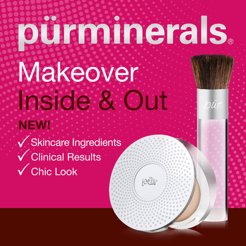 Pur Minerals Unveils Breakthrough Foundation with Built-in Skincare