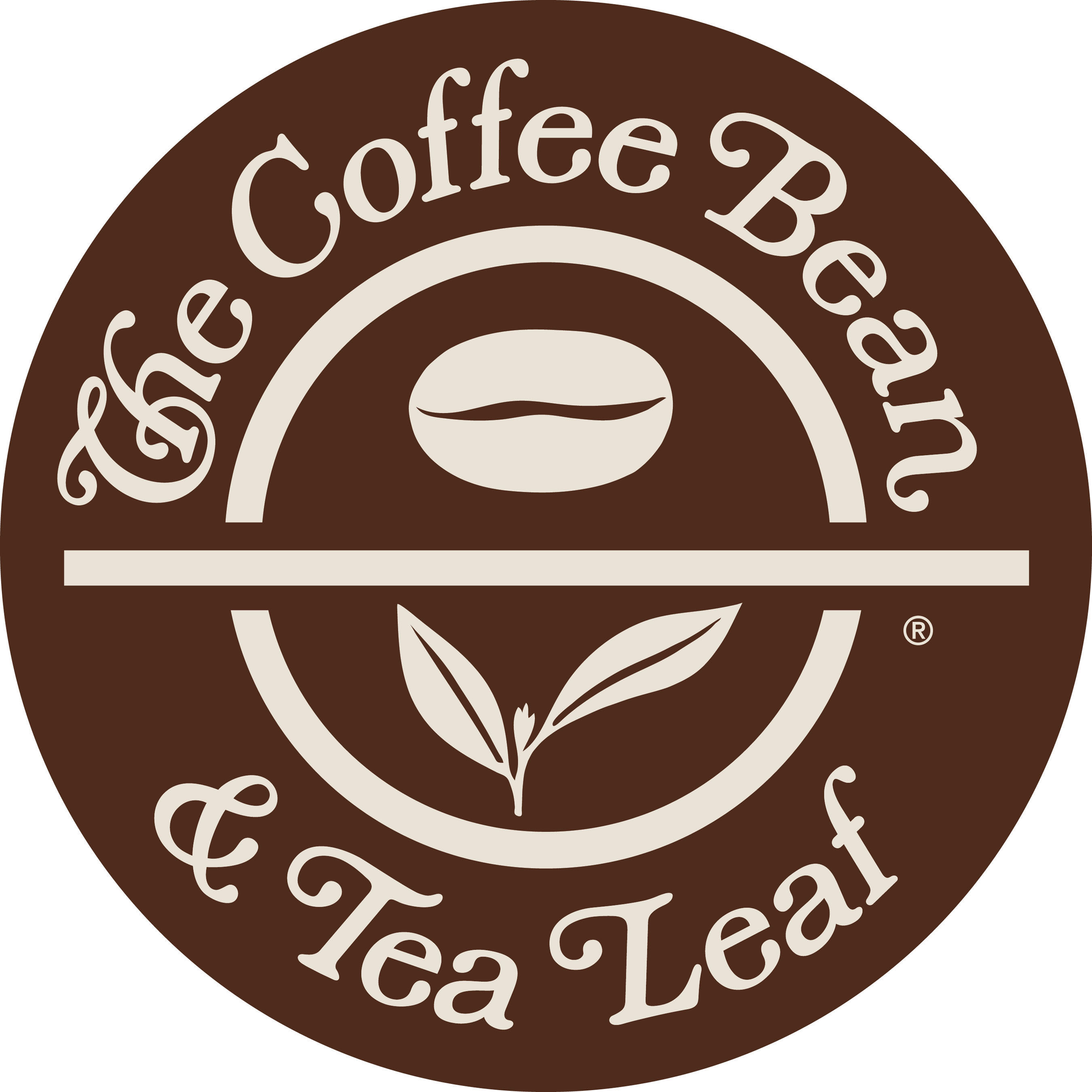 The Coffee Bean & Tea Leaf Logo.