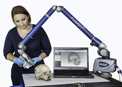 FARO's new Forensic ScanArm featuring FARO's ScanArm hardware platform and Geomagic(R) software.
