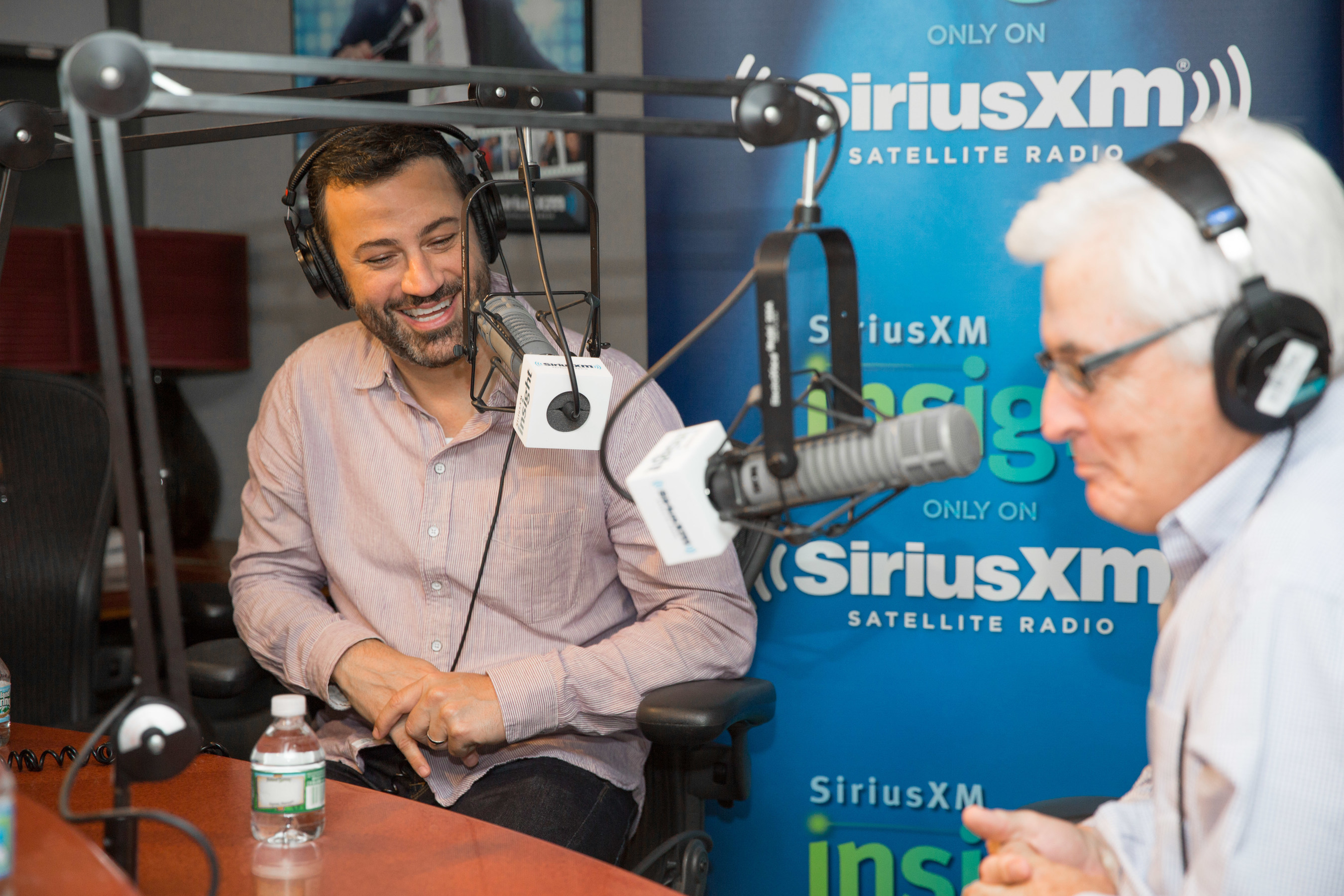 SiriusXM's 'The Bill Carter Interview' Kicks Off Its First Two Weeks with Late Night Stars Jimmy Kimmel and Jimmy Fallon