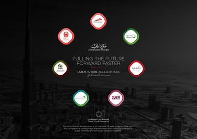 PULLING THE FUTURE FORWARD FASTER The Dubai Future Accelerators are an intensive 12-week program that pairs top companies & cutting-edge entrepreneurs with powerful partners in Dubai to create breakthrough solutions together. (PRNewsFoto/Dubai Future Foundation)