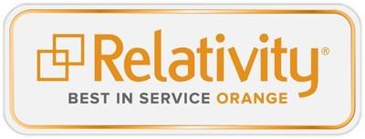 Relativity Best in Service ORANGE