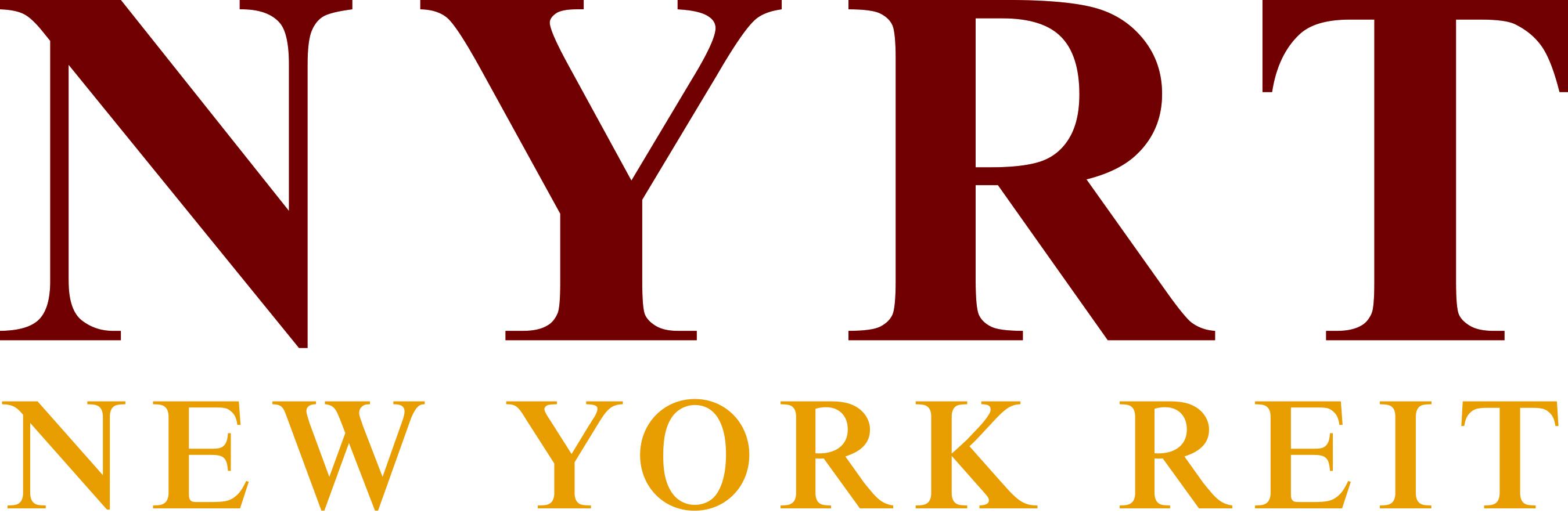 NYRT Logo (PRNewsFoto/New York REIT, Inc.) (PRNewsFoto/New York REIT, Inc.)