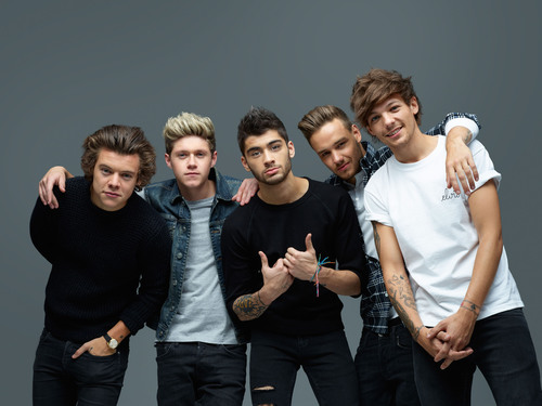 ONE DIRECTION MAKE HISTORY AND ARE #1 IN THE U.S. WITH 546,000 UNITS SOLD (PRNewsFoto/Columbia Records, Syco Entertainment/Columbia Records) (PRNewsFoto/COLUMBIA RECORDS)