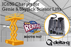 Delta-Q Technologies will be introducing its IC650 Industrial Battery Charger to the rental market at The Rental Show 2015. The charger is a drop-in replacement on Skyjack and Genie scissor lifts, and brings a higher level of on-board durability and charging effectiveness for multiple battery types and brands.