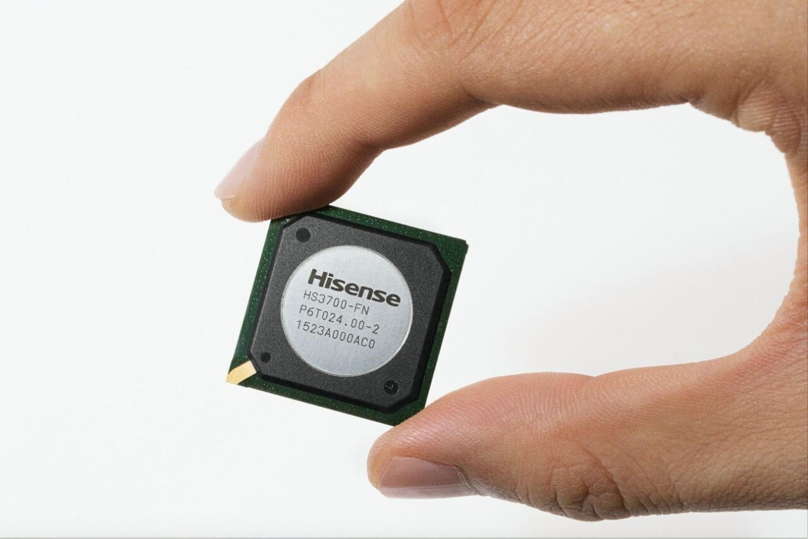 Hisense lance la première puce pour moteur graphique indépendamment développée en Chine