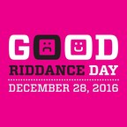 Say Goodbye to Unpleasant Memories from 2016 at the Tenth Annual Good Riddance Day Event