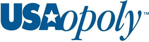 USAopoly Logo.  (PRNewsFoto/USAopoly)