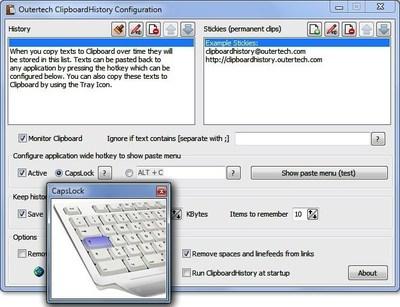 Clipboard History Pro configuration