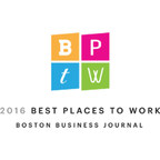SmashFly Recognized By Boston Business Journal As A 2016 Best Place To Work