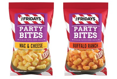 Inventure Foods Changes the Snack Food Game with Snackable Party Bites from TGI Fridays