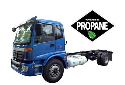 Alkane Class 7 Propane Truck