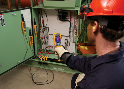 """""""The Fluke Ti125 Infrared Camera and CNX Wireless Test Tools were designed with tremendous input from ..."""