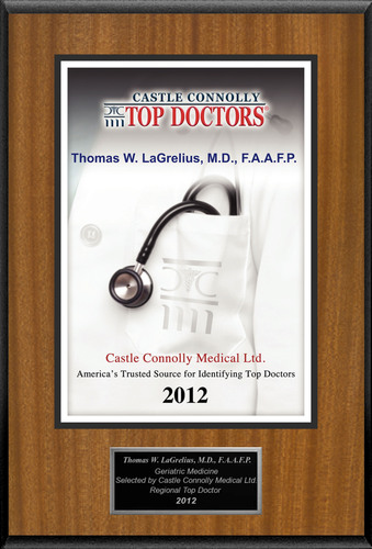 Dr. Thomas LaGrelius is recognized among Castle Connolly's Top Doctors® for Torrance, CA region
