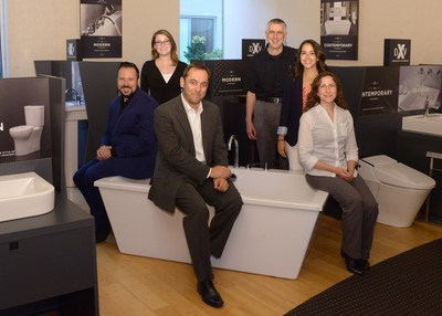 American Standard Vice President - Design Jean-Jacques L'Henaff (front) leads the Company's newly reorganized creative design team, comprised of skilled members Greg Reinecker, Emilie Williams, Christophe Bucher, Gabriela Ravassa and Alyson Lyons.