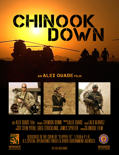 Chinook Down.  (PRNewsFoto/Alex Quade)