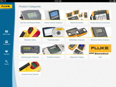 With the new Fluke Biomedical Information Center App, staying current on product updates and industry news is easier and more convenient than ever before. Users can access product material any time, with or without a Wi-Fi connection, by downloading resources directly to their device.  (PRNewsFoto/Fluke Biomedical)
