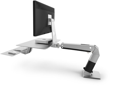 Ergotron Unveils New WorkFit-A for Apple(R) with VESA Mount.  (PRNewsFoto/Ergotron, Inc.)