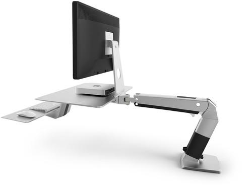 Ergotron Unveils New WorkFit-A for Apple(R) with VESA Mount. (PRNewsFoto/Ergotron, Inc.) (PRNewsFoto/ERGOTRON, INC.)