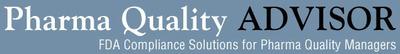 Pharma Quality Advisor.  (PRNewsFoto/FDAnews)