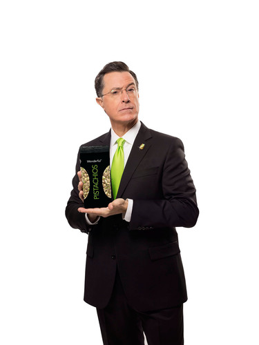 "Stephen Colbert Makes Super Bowl Debut with Wonderful Pistachios. Wonderful Pistachios Returns to the Super Bowl with Two New Spots, New Campaign Theme, ""Get Crackin, America."" For more information visit GetCrackin.com.(PRNewsFoto/Wonderful Pistachios) (PRNewsFoto/WONDERFUL PISTACHIOS)"