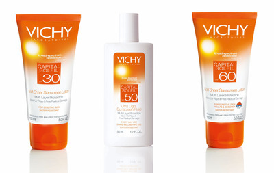Protect your skin cells and your future with new Vichy Laboratoires Sunscreens.  (PRNewsFoto/Vichy)