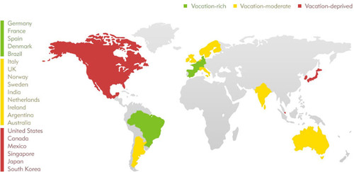 Expedia 2011 Vacation Deprivation Study Reveals Wide Work-Life Disparity Across Five Continents