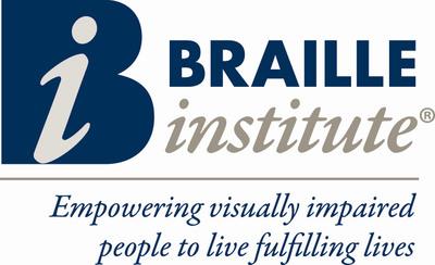 Braille Institute of America, Inc. logo. (PRNewsFoto/Braille Institute of America, Inc.)