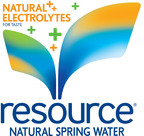 Introducing resource® Natural Spring Water: A National Premiere with Star Power