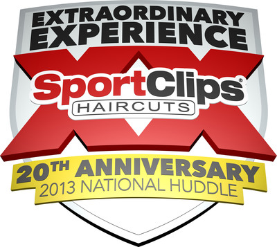 "Sport Clips Haircuts Makes 20th Anniversary Huddle an ""Extraordinary Experience"".  (PRNewsFoto/Sport Clips Haircuts)"