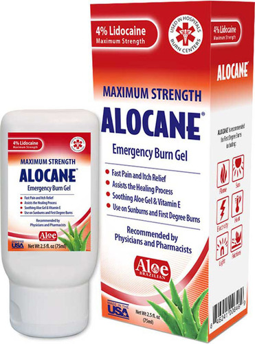 Alocane Product Box. (PRNewsFoto/Quest Products) (PRNewsFoto/QUEST PRODUCTS)