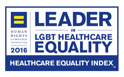 The Children's Hospital of Philadelphia (CHOP) has been named a 2016 LGBT Healthcare Equality Leader by the Human Rights Campaign (HRC) Foundation.