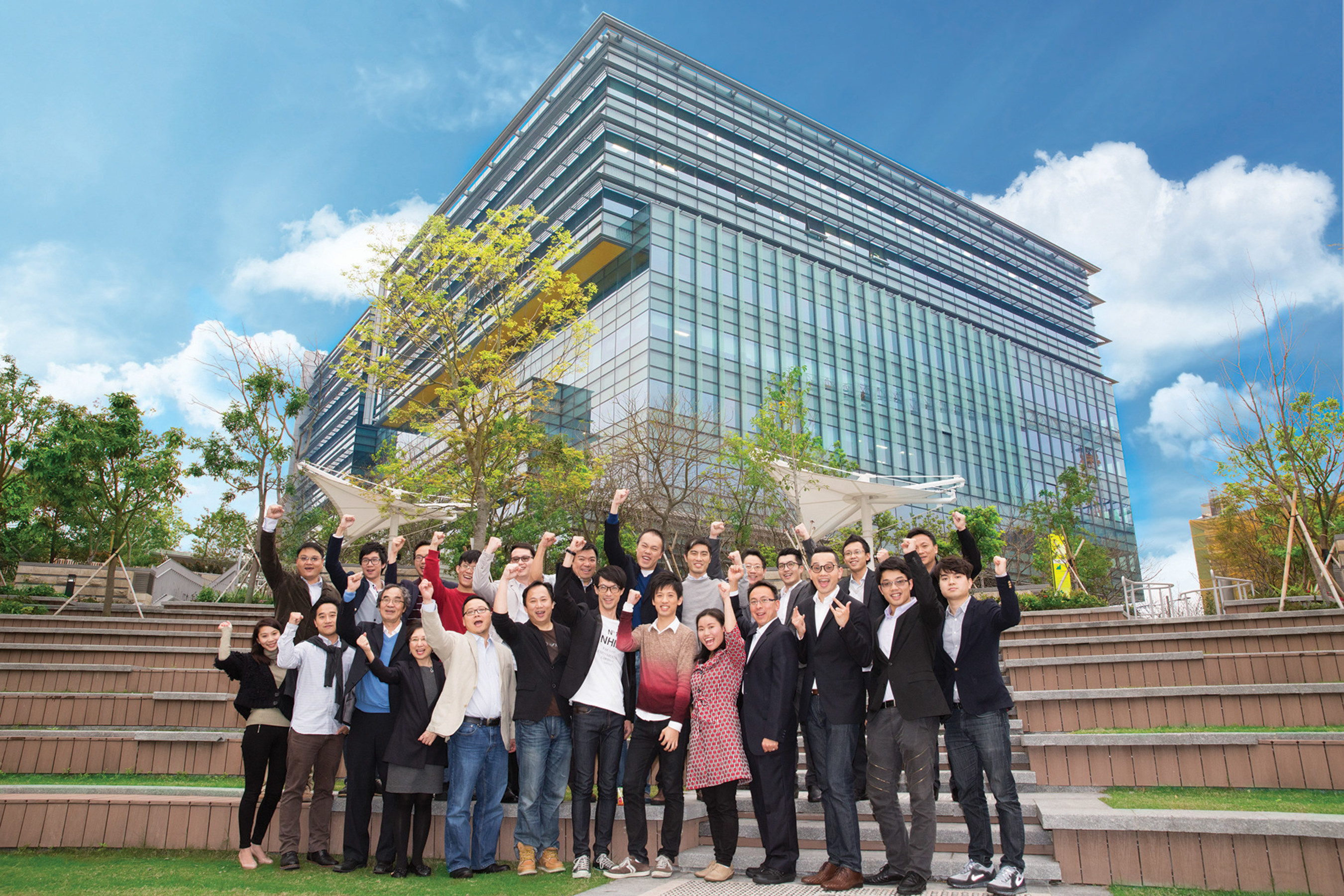 Innovation elites from the Hong Kong Science Park develop innovations surrounding three main themes -- smart ...
