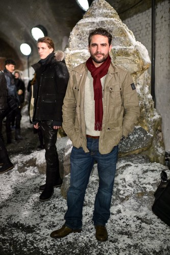 Belstaff AW16 'HEADING NORTH' presenting at London Collections Men Guest Levison Wood ...