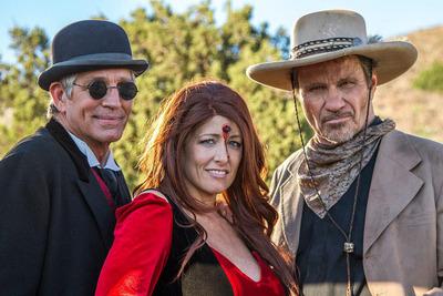 Six Gun Savior Actors.  (PRNewsFoto/Destiny Horizons)